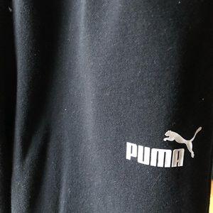 Black PUMA sweatpants